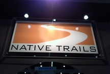 Native Trails | Tradeshows / The Native Trails team frequents top kitchen and bath tradeshows. Here are some snapshots from past visits and booth setups.  / by Native Trails - Kitchen and Bath Products