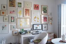 Gallery Wall Ideas / by Amy Kelly | That Winsome Girl