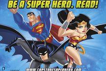 Super Hero Readers / Be a Super Hero. Read!  www.capstonesuperhero.com / by Capstone