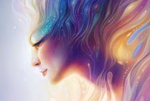 Ladies of Fantasy / Digital Art / by Priscilla Tan