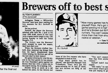 1987 Milwaukee Brewers Newspaper Clippings / by Jon Loomer