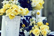 Wedding - Royal Blue and Yellow - Tyreshia / Royal Blue as main color... could accent with a variety of complimentary shades.  This one we will use yellow.  Jen Antoniou Weddings and Events www.jenantoniouweddings.com events@jenantoniou.com 707-992-5872 / by Jen Antoniou Weddings and Events