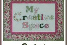 My Creative Space Project / Sharing My New Dream! / by Victoriana Quilt Designs