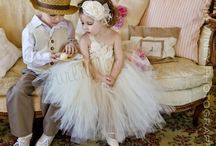 Flowergirl dresses / by Riana Breedt