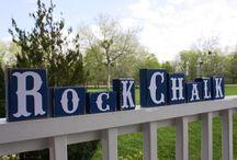 Rock Chalk Jayhawk! / by Erin Smith