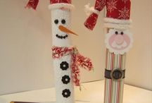 Christmas for kids crafts / by Judy Weis