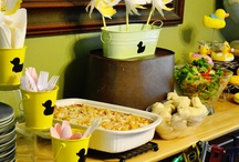Duck Bday ideas / by Nancy Manasse Cohick