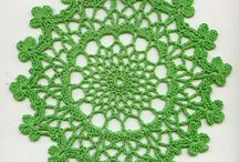 crochet tutorials doily / Tutorials for a doily, coasters, doily rugs and lamps and anything that looks like a doily. ;) / by Jeannette