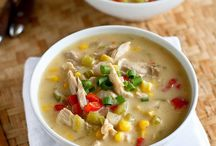 Soups, stews, chowders, & chili / by Mandy Wells