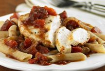 Chicken Recipes / Quick and simple chicken recipes you can make tonight. / by ReadySetEat