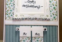 Cards Anniversary/Love / by Ecstasy Crafts
