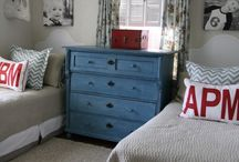 Ad's big boy room / by Erin Goodfellow