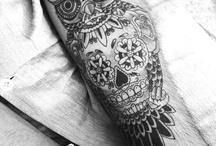 Tattoos. / by Riki Holm