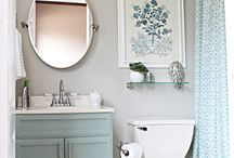 Half Bath Inspiration / by Stacey Kemper
