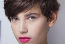 Kort hår / by Caroline Valentin