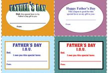 Fathers Day / Fathers, grandfathers, step dads - gift and craft ideas. / by Lee Hansen, Designer