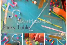 Preschool- Sensory Play / by Wendy