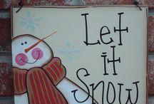 Snowmen / Art for Snowmen Classes / by Tara Collins