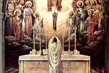 Holy Roman Catholic Church & The Faithful / Catholic People , Art, Architecture, History, Beliefs, etal / by Teresa