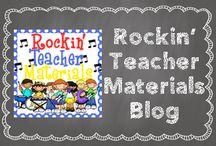 Rockin' Teacher Materials Blog Posts / Read the posts from the Rockin' Teacher Materials blog. www.rockinteachermaterials.com / by Hilary Lewis - Rockin' Teacher Materials