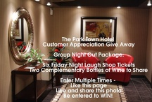 Promos! / Look here for promos and events coming up at the Park Town Hotel!  / by Park Town Hotel