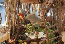 Miniatures - fairy houses / by Helen .