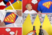 Superman Party Ideas / by Kristi Christian
