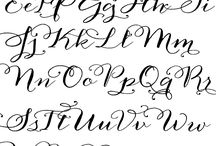 I ♡ handwriting / by Ashley Pedigo