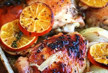 Recipe roundup.Poultry / by Jennifer Lange-Pomes