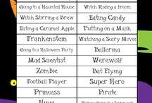Halloween party / by April Jones-Wilson
