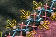 Embroidery stitches / by Lucy Byrd