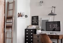Work Spaces / Inspirational and intimate look at artist's studio spaces / by Astrid