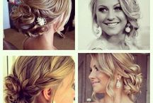 Updo hairstyles / by Kayla Barnes