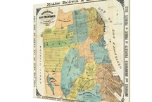 Vintage Map Products / A collection of products that are vintage. / by AlleyCatshirts Zazzle