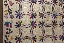 Applique/Pieced quilts / by Wanda Cibroski