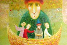 Painting / by Iris Biran - illustrator