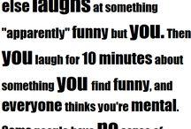 Funny / by Maddie Ballentine