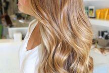 Couleurs et coupes de cheveux ... / by coty mont
