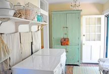 Laundry Room Inspiration / by Gabrielle Marshall