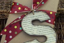 gift wrapping / by Debbi Morden Tearoe