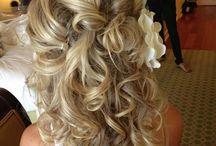 Bridal hair / by Victoria Van Vlear