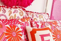PILLOWY DREAMS / PILLOWS, THROWS, SPREADS / by Bernice Marlow