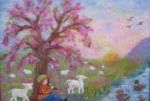 Felty Fantasticals - Wall hanging / by *** Briali ***