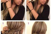 Hair Ideas / by Michaela SJ