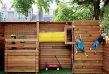 Backyard playstructure/awesomness / by Allison Robertson