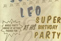 Action Packed - Superhero Birthday Party / by Luc & Lilah Events