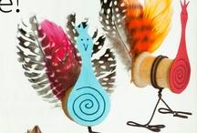 Bird crafts / by Sandra Borger