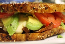 Sandwiches / by Kathy Gleason