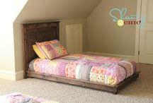 Bed plans / by Hallie Keller