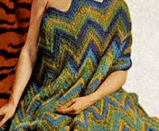 Vintage Knitted Afghan and blankets / by Vintage Knitting